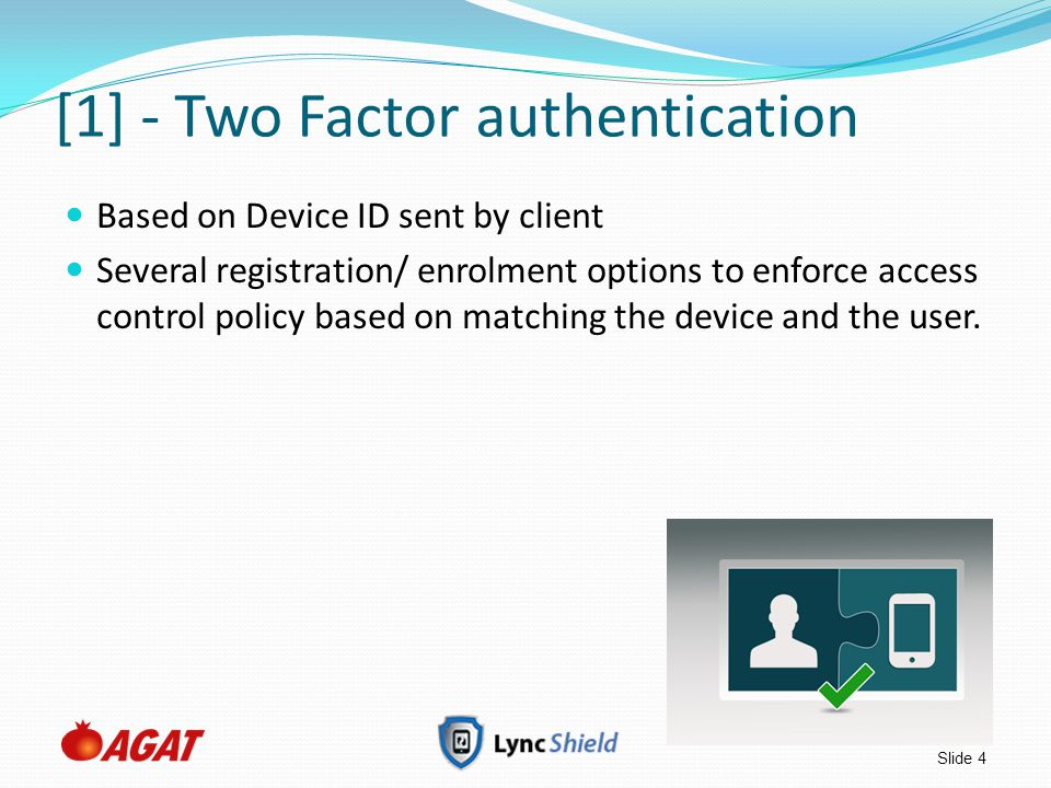 [1] - Two Factor authentication